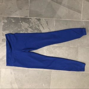 Under Armour Cobalt Blue full length yoga leggings